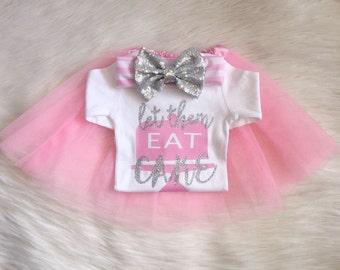 Let Them Eat CAKE! Party Bodysuit Tshirt