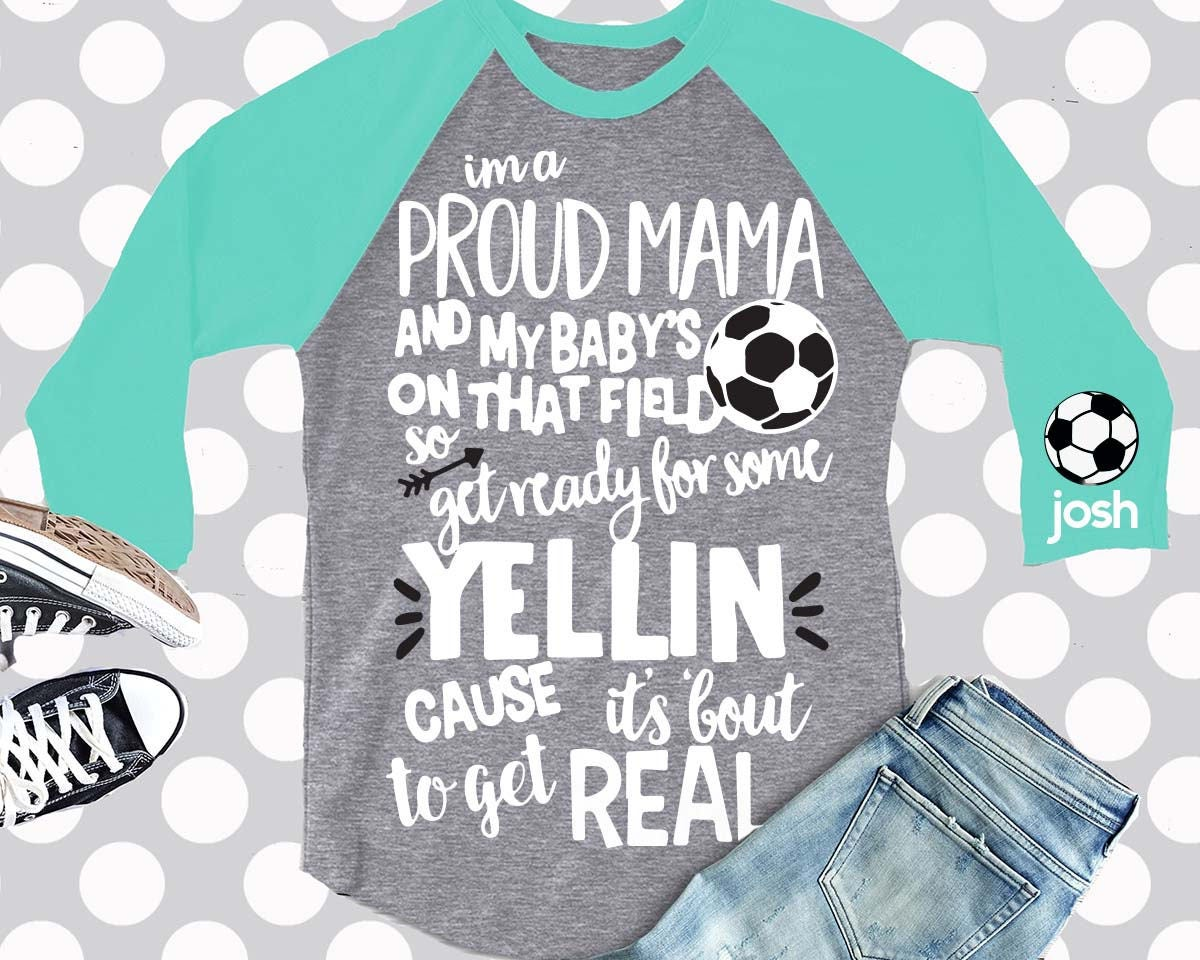Soccer Mom Svg Proud Mama Svg Mom Svg Mama Svg Eps Png