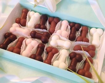 Bachelorette Party - Chocolate Penis - Penis Candy - Girls Night Out - Penis Party Favors - Bachelorette Penis - Penis Cupcake - Naughty