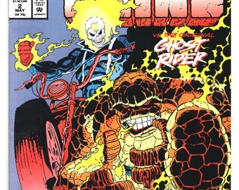 The Adventures of the Thing - Issue 2 - May 1992 - Modern Age - NM/MT - Marvel Comics