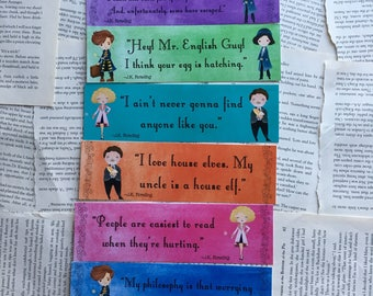 Fantastic Beasts bookmarks Set 1 of 2