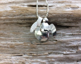 Baby Turtle In Shell Pendant