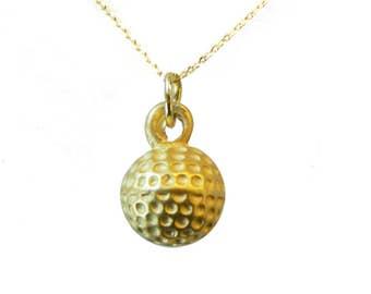 Navika Golf Ball Necklace