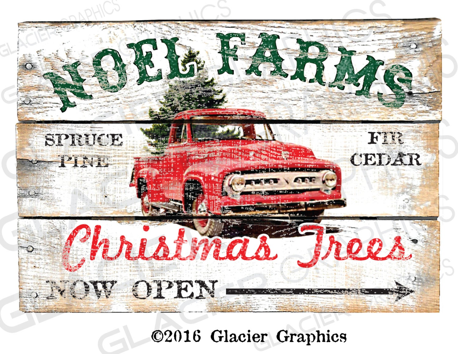 Country Christmas Tree Farm Primitive Sign Digital Download