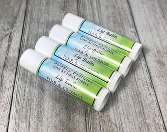 Pear & Coconut Lip Balm | Bubbly Designs