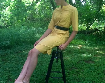 Vintage 60's Island Casuals Shirtdress Size M