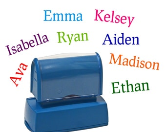 Name stamp for kids - Childrens personalized rubber stamp - Gift - Kids stamp - Self inking customized stamper