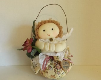 Vintage Stuffed Little Angle Walll Hanging CL7-10