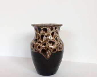 Small Vintage Glazed Bud Vase