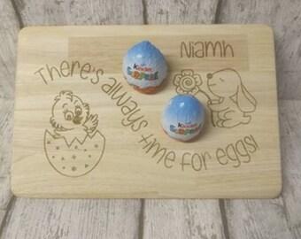 Easter egg board, Easter gift, Easter present, Personalised Easter gift