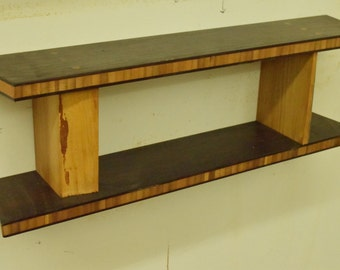 No. 49 - Bamboo Plywood and Elm shelf