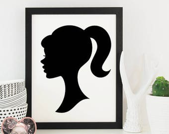 Barbie Silhouette - SVG CUT FILE