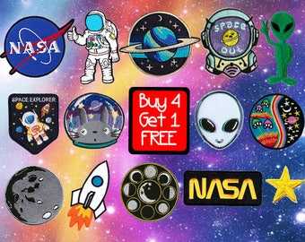 Alien Patch Cartoon Patches Iron On Patch Sew On Patch Cute Patches Jean Patches
