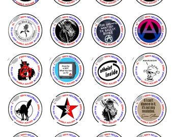 Will ANARCHY actually change the world?  Our 1.25 inch buttons might just help.