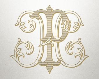 Wedding Monogram Design - HP PH - Wedding Monogram - Interlocking