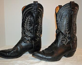 Tony Lama Iguana Skin Boots 10.5