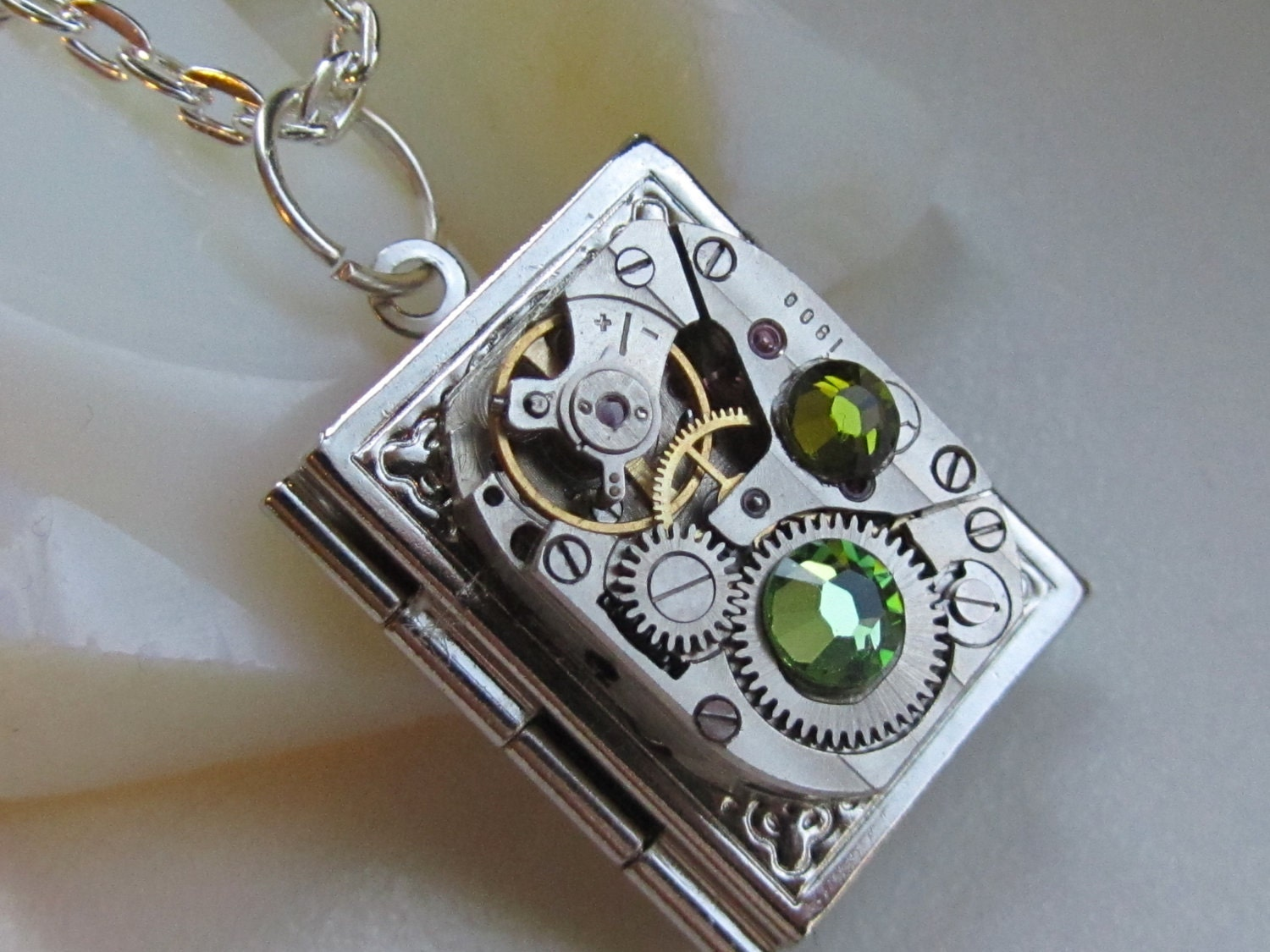 watch wrist by locket pinkabsinthe lockets i steam pin pinterest steampunk
