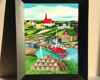 Peggy's Cove Village (painting)