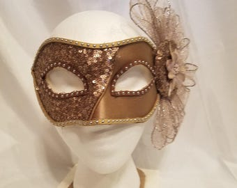Hand made, one of a kind party mask
