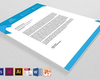 Company Letterhead | Instant download Digital Product