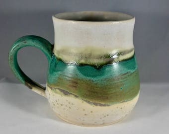 12 oz Handmade Pottery Mug, Clay Mug, Stoneware Mug, Handmade Mug, Pottery Coffee Mug, Handmade Coffee Mug, Coffee Cup, Stoneware Coffee Cup