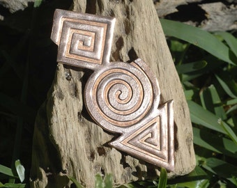 Figure Geometric For Enameling Enameled Blank Stamping Texturing - Variety of Metals - 1 pieces