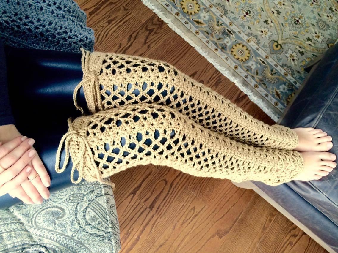 CROCHET PATTERN, Crochet Leg Warmer Pattern, Crochet Instant ...