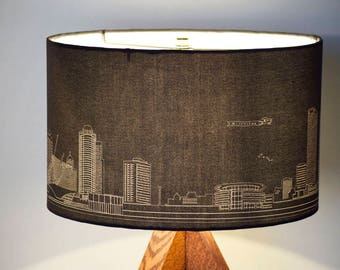 Milwaukee New Skyline Table Lamp - REF: MKBRN - Made to order
