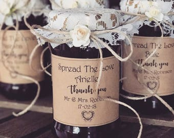 Spread the Love with JAM...wedding favours