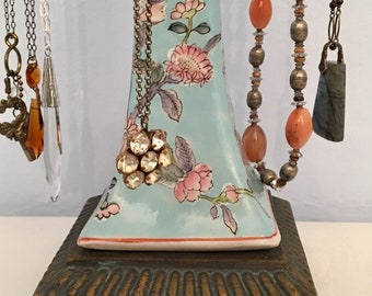 Jewelry holder - necklace stand - jewelry storage - tall necklace display - tall jewelry tree - gifts for her - Mother's Day