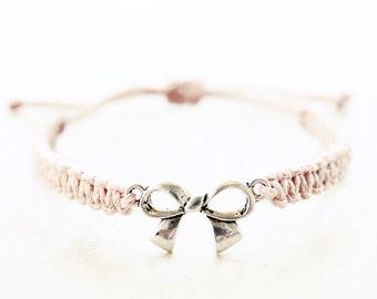 Bow Bracelet - Hemp Bracelet - Hemp Jewelry