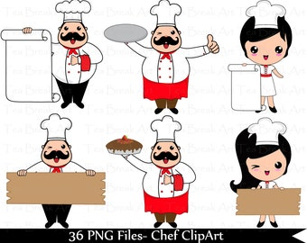chef banner etsy rh etsy com Pampered Chef Graphics pampered chef clipart