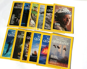 1992, National Geographic Magazine, Nat Geo 1992, Nat Geo Magazine, National Geographic Collection, National Geographic
