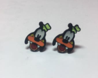 Goofy earrings, Disney earrings, Disney jewelry, Fish extenders, Disney cruise