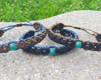 Jade Turquoise stone bracelet