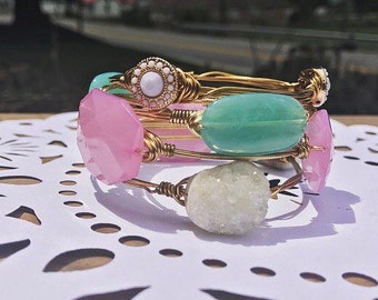 Preppy Statement Bangle Set