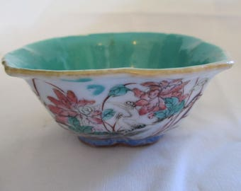 Tongzhi Nianzhi Famille Rose Lotus Bowl marked and of the period!!