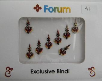 Crystal Diamante Bindi Stick On Bollywood Indian Body Tattoo Art Gem Jewel - Forum #41
