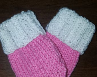 Baby thumbless mittens