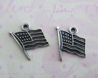 SALE 12 Silver USA Findings 3515