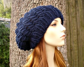 Instant Download Knitting Pattern - Knit Beret Pattern - Knit Hat Pattern Cyclone Beret - Womens Beret Pattern - Womens Accessories