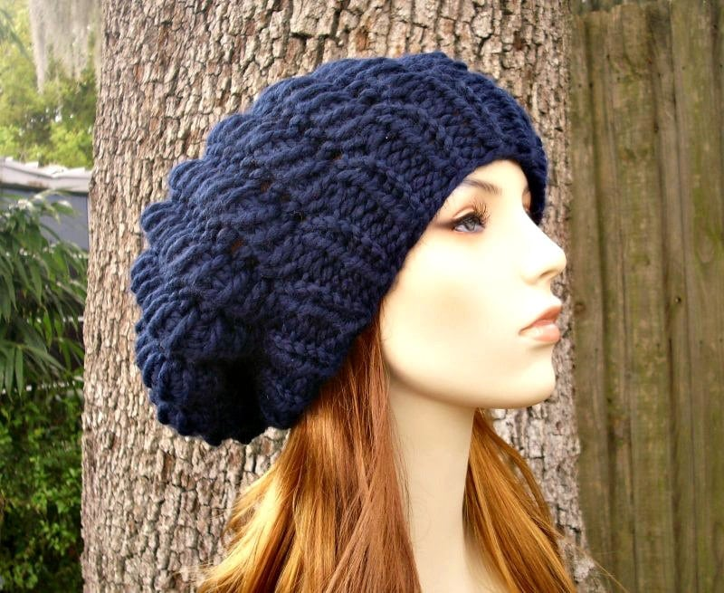 Instant Download Knitting Pattern Knit Beret Pattern Knit