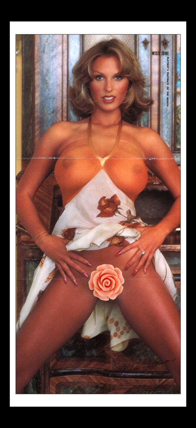 mature playboy june 1976 : playmate centerfold debra peterson