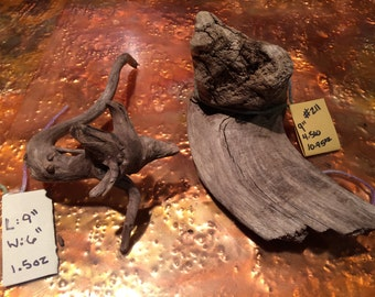 One of a kind driftwood from The Mississippi River Valley, Mn
