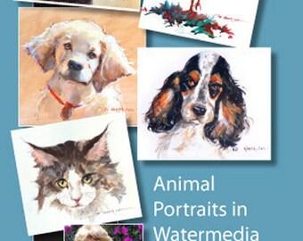 Animal Portraits In Watermedia With Pat Weaver