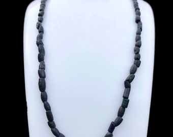 Amazing Authentic Vikings Glass Bead Necklace - Restrung - 800-1100 AD - Comes with COA !! #2