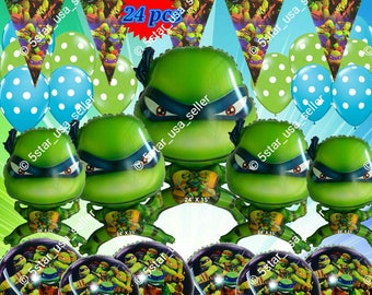 Ninja Turtle  Balloon Teenage Mutant party supplies