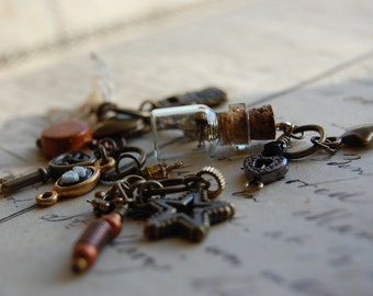 The Apothecary's Steampunk Stitch Markers