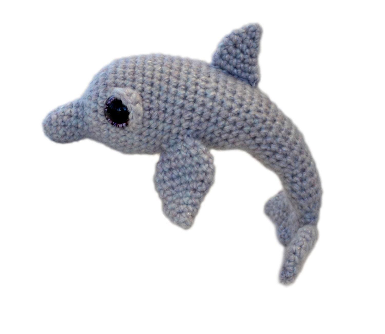 Dolphin Amigurumi Crochet Pattern PDF Instant Download - Tasha from ...