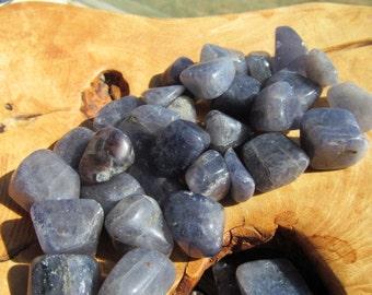 Iolite Medium Tumbled Stone